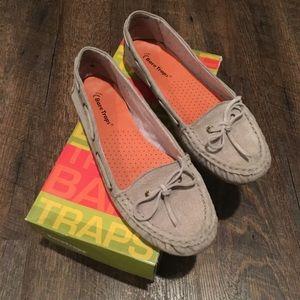 Bare Traps Annette suede loafers